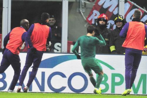 MILAN VS ACF FIORENTINA 17