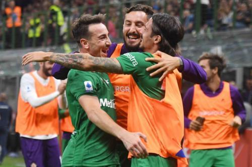 MILAN VS ACF FIORENTINA 35